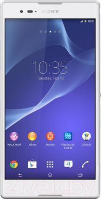 Смартфон Sony Xperia T2 Ultra / D5303 (белый) - общий вид