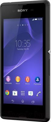 Смартфон Sony Xperia E3 Dual / D2212 (черный) - общий вид