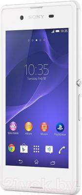 Смартфон Sony Xperia E3 Dual / D2212 (белый) - общий вид