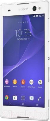 Смартфон Sony Xperia C3 Dual / D2502 (белый) - общий вид