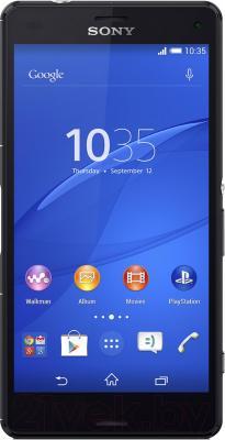 Смартфон Sony Xperia Z3 Compact / D5803 (черный) - общий вид