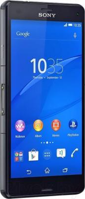 Смартфон Sony Xperia Z3 Compact / D5803 (черный) - вполоборота