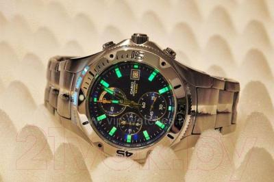 Часы мужские наручные Casio MTD-1057D-1AVES - подсветка
