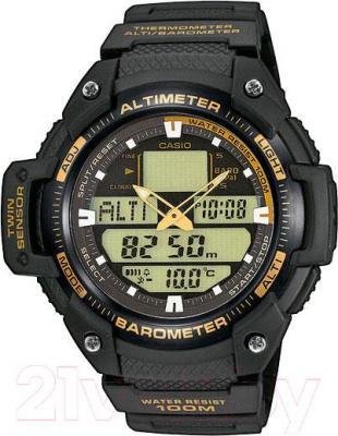 Часы мужские наручные Casio SGW-400H-1B2VER - общий вид