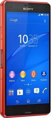 Смартфон Sony Xperia Z3 Compact / D5803 (оранжевый) - общий вид