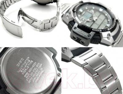 Часы мужские наручные Casio SGW-400HD-1BVER - основные элементы