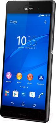 Смартфон Sony Xperia Z3 / D6603 (черный) - общий вид