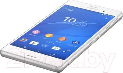 Смартфон Sony Xperia Z3 / D6603 (белый) - вид лежа