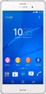 Смартфон Sony Xperia Z3 / D6603 (белый) - общий вид