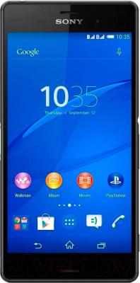 Смартфон Sony Xperia Z3 Dual / D6633 (черный) - общий вид