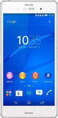 Смартфон Sony Xperia Z3 Dual / D6633 (белый) - общий вид