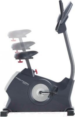 Велотренажер ProForm 345 ZLX (PFEVEX73913) - вид сбоку и регулировка сиденья