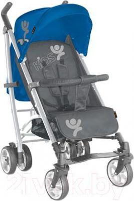 Детская прогулочная коляска Lorelli S100 (Blue-Gray Kids) - общий вид