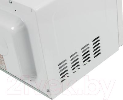 Микроволновая печь Daewoo KOR-6L3B - вид сбоку
