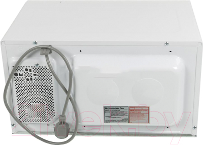 Микроволновая печь Daewoo KOR-6L3B - вид сзади