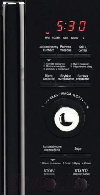 Микроволновая печь Daewoo KOR-8A8R - панель
