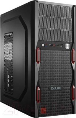 Системный блок HAFF Maxima G20341064D50V416D - общий вид