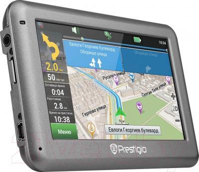 GPS навигатор Prestigio GeoVision 4055 (PGPS4055CIS04GBNV) - вполоборота