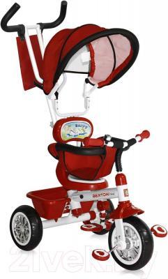 Детский велосипед с ручкой Bertoni B313A (красный) - общий вид