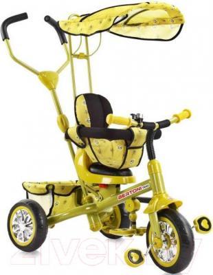 Детский велосипед с ручкой Bertoni B301B (зеленый) - общий вид