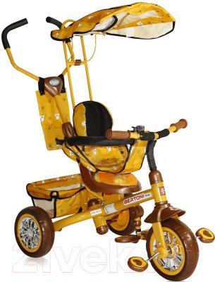 Детский велосипед с ручкой Bertoni B301B (оранжевый) - общий вид