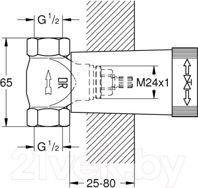 Встроенный механизм смесителя GROHE 29800000