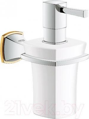 Дозатор жидкого мыла GROHE Grandera 40627IG0 - общий вид