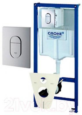 Инсталляция для унитаза GROHE Rapid SL 38929000 - общий вид