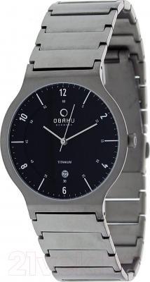 Часы мужские наручные Obaku V133GTBST