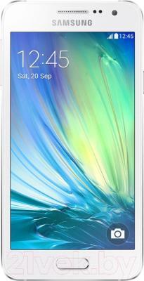 Смартфон Samsung Galaxy A3 / A300F/DS (белый) - общий вид