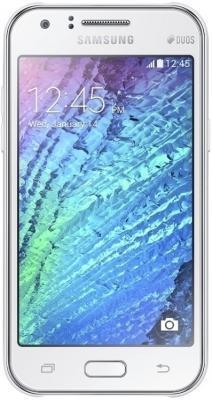Смартфон Samsung Galaxy J1 / J100H/DS (белый)