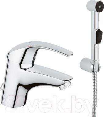 Смеситель GROHE Eurosmart Hygienica 33462001 - общий вид