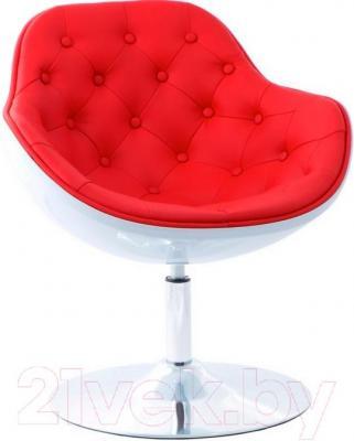 Кресло Мебельные компоненты Lux (красно-белый)