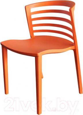 Стул Мебельные компоненты Light (оранжевый) - общий вид