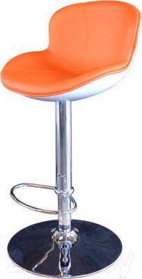 Стул Мебельные компоненты Morgan (бело-оранжевый) - общий вид