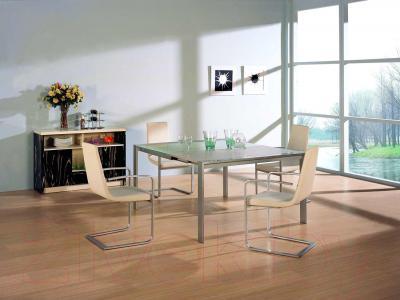 Обеденный стол Мебельные компоненты Simon (белый)