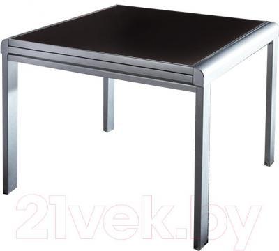 Обеденный стол Мебельные компоненты Line (черный)