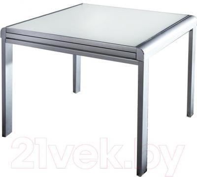 Обеденный стол Мебельные компоненты Line (белый)