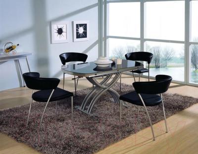 Стол-трансформер Мебельные компоненты Gloria (чёрный)