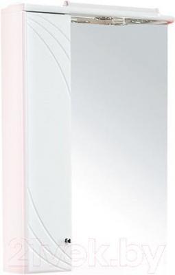 Шкаф с зеркалом для ванной Акватон Пинта 60М (1A013202PT01L) - общий вид