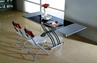 Стол-трансформер Мебельные компоненты Carol (чёрный)
