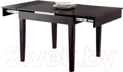 Обеденный стол Мебельные компоненты Diva (чёрный) - общий вид