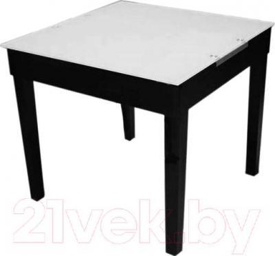 Обеденный стол Мебельные компоненты Diva (черно-белый)