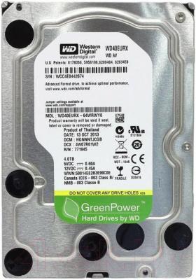 Жесткий диск Western Digital AV-GP 4TB (WD40EURX) - общий вид