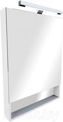 Шкаф с зеркалом для ванной Roca The Gap ZRU9302749 (белое)