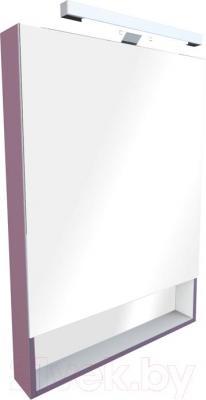 Шкаф с зеркалом для ванной Roca The Gap ZRU9302752 (фиолетовое) - общий вид