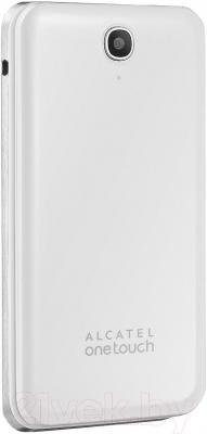 Мобильный телефон Alcatel One Touch 2012D (белый) - в закрытом положении