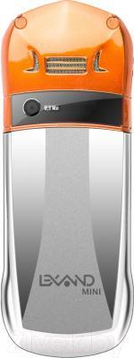 Мобильный телефон Lexand Mini LPH1 (оранжевый) - вид сзади