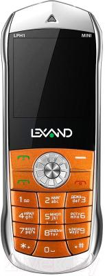 Мобильный телефон Lexand Mini LPH1 (оранжевый) - общий вид