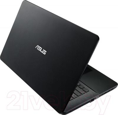 Ноутбук Asus X751LN-TY002D - вид сзади